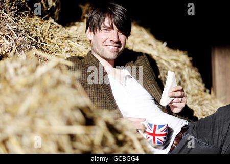 Hovis 'Slice of das Leben auf dem Bauernhof' Kampagne - Stockfoto