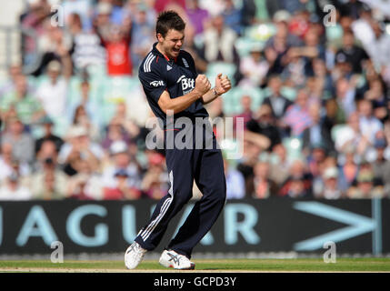 Cricket - NatWest Serie - dritte One Day International - England V Pakistan - The Brit Insurance Oval - Stockfoto