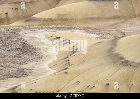 Die Painted Hills in Oregon ist einer der drei Einheiten der John Day Fossil Beds National Monument. - Stockfoto