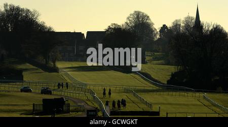 Pferderennen Sie - erste November-Tagung - Leicester Racecourse