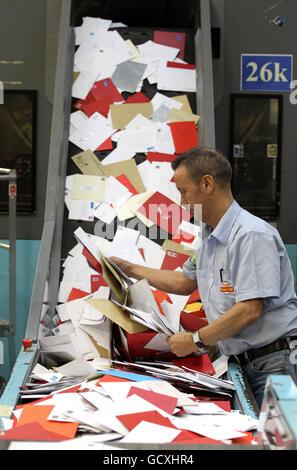 Weihnachten-Postdienste - Stockfoto