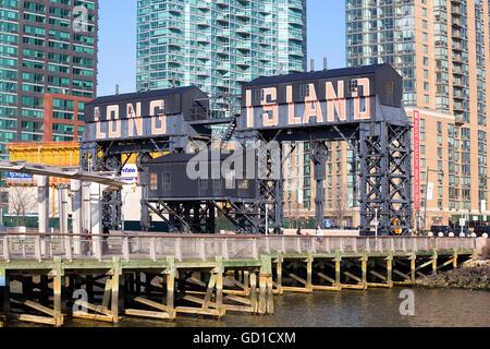 New York, USA - 18. März 2016. Long Island. - Stockfoto
