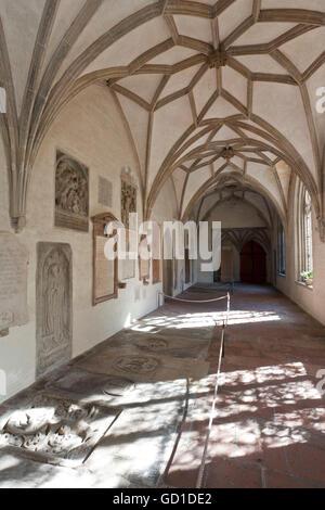 Kloster, Kathedrale unserer lieben Frau, Kathedrale von Augsburg, Augsburg, Bayern - Stockfoto