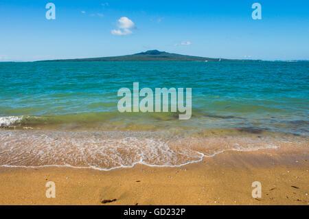 Rangitoto Island, Hauraki-Golf, Auckland, Nordinsel, Neuseeland, Pazifik - Stockfoto