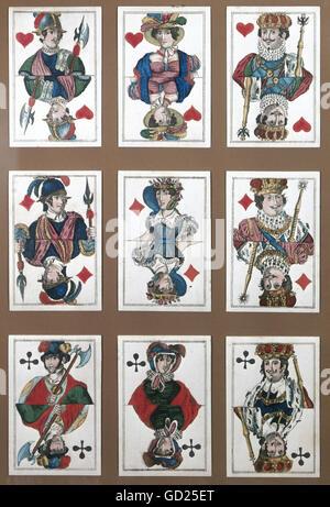 Französische Kartenspiel