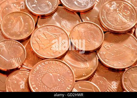 1 Euro Cent Münze Deutschland 2002 Stockfoto Bild 41444609 Alamy