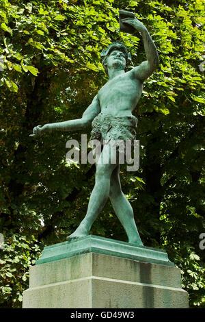 Jardin du Luxembourg. París. Frankreich. - Stockfoto