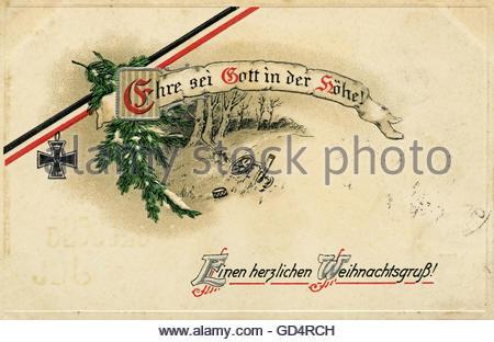 deutschland wwi propaganda postkarte mit text sieg. Black Bedroom Furniture Sets. Home Design Ideas