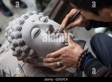 Künstler der Stadt Chongqing, China Stockfoto