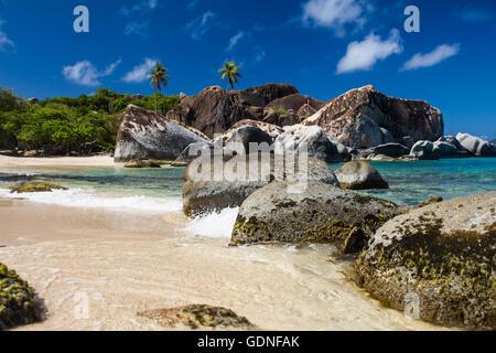 Strand in den Bädern - Stockfoto