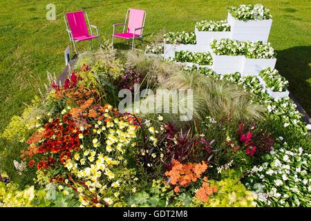 Tatton Park, Knutsford, Großbritannien. 21. Juli 2016. Die RHS Tatton Park Flower Show, der Norden größte Garten - Stockfoto