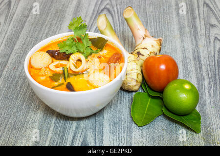 tom yum kung thai scharf suppe vektor illustration vektor abbildung bild 112242863 alamy. Black Bedroom Furniture Sets. Home Design Ideas