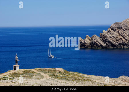 Geographie/Reisen, Spanien, Balearen, Menorca, Islds. In der Nähe von Fornells: Einlass zu Badia de Fornells, Additional - Stockfoto