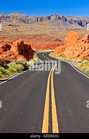 Geographie/Reisen, USA, Nevada, Overton, Valley of Fire State Park, Nevada, No-Exclusive - Verwenden Sie - Stockfoto