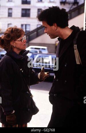 Sally Field, Tom Hanks Der Dependance Medizinstudent Steven Gold (Tom Hanks), Inzwischen Ein Gefeierter Entertainer, - Stockfoto