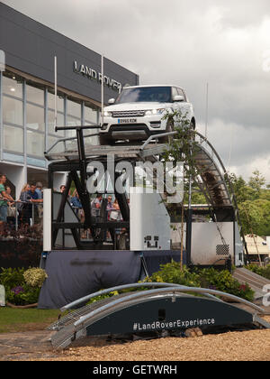 2016 Goodwood Festival of Speed UK - Land Rover Experience - Stockfoto