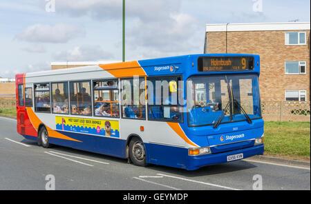 Stagecoach Bus. Single decker Stagecoach Bus Nummer 9 in West Sussex, England, UK.