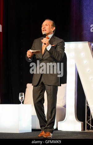 "Las Vegas, Nevada, USA. 30. Juli 2016. Ray ""Boom Boom"" Mancini geehrt, an der 4. jährlichen Nevada Boxing Hall Of - Stockfoto"
