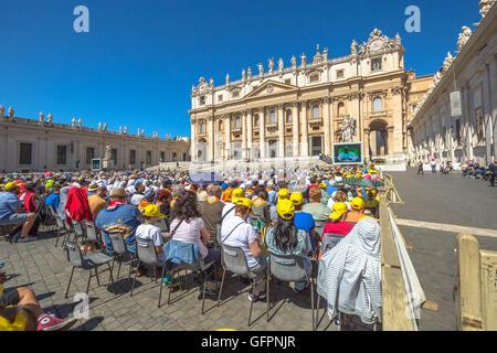 Piazza San Pietro - Stockfoto