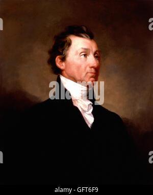 Samuel F. B. Morse - James Monroe - Stockfoto