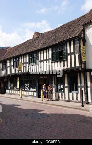 Das Tudor House Museum. Mönch St / Friar Street, Worcester WR1 2NA. UK - Stockfoto