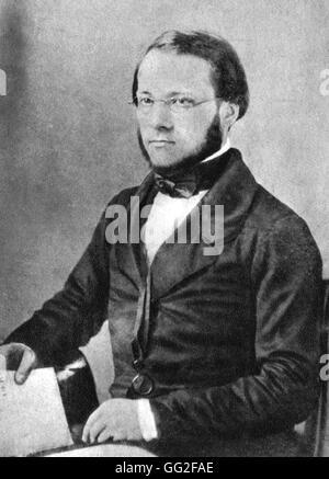 Porträt von Louis Pasteur (1822-1895) 1852 Frankreich - Stockfoto