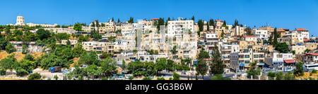 Ansicht der arabischen Viertel in Jerusalem - Stockfoto