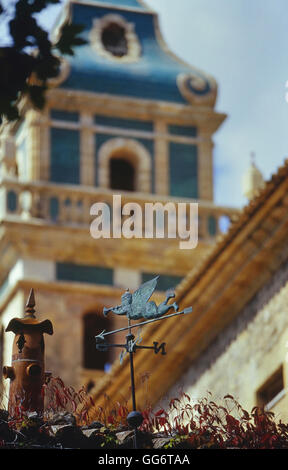 Das Kloster. Valldemossa. Mallorca. Spanien. Europa - Stockfoto