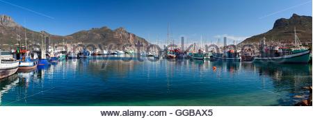 Hout Bay-Panorama - Stockfoto
