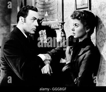 """DAS HAUS DER LADY ALQUIST / Gaslight USA 1944 / George Cukor CHARLES BOYER, INGRID BERGMAN, """"Gaslight"""", 1944. Regie: George Cukor aka. Gaslight"""