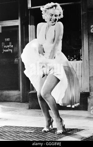 """DAS VERFLIXTE 7. JAHR / die siebenjährigen Itch USA 1955 / Billy Wilder MARILYN MONROE, """"The Seven Year Itch"""", 1955. Regie: Billy Wilder aka. The Seven Year Itch"""