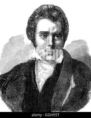 Sir David Wilkie (1785 – 1841) war ein schottischer Maler. Im Jahr 1804 begann er Pitlessie Messe, umfasst etwa - Stockfoto