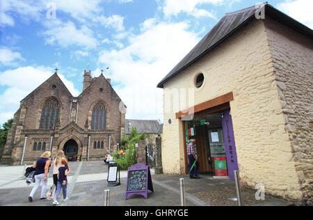 Brecon touristische informationen visitor centre im - Rampe bauen fur rollstuhl ...