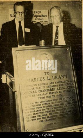Preiselbeeren; -die nationale Cranberry Magazin (1958)