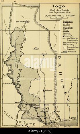 Sterben Sie, Postwertzeichen Und Entwertungen der Deutschen Postanstalten in Den Schutzgebieten Und Im Auslande (1921)