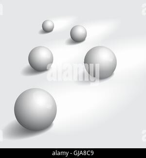 Glänzende Kugeln - Stockfoto