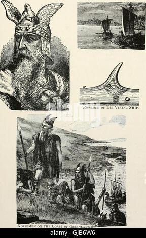 Geschichte der Pilger und Puritaner, ihre Vorfahren und Nachkommen; Grundlage der Amerikanisierung (1922) - Stockfoto