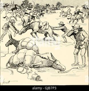 Die Geschichte und Geographie von Texas wie gesagt in Landkreisnamen (1915)