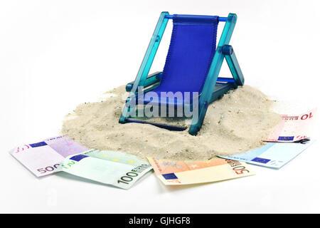 Urlaubsgeld - Stockfoto