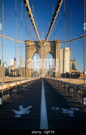 Brooklyn Brücke Brücke New York - Stockfoto