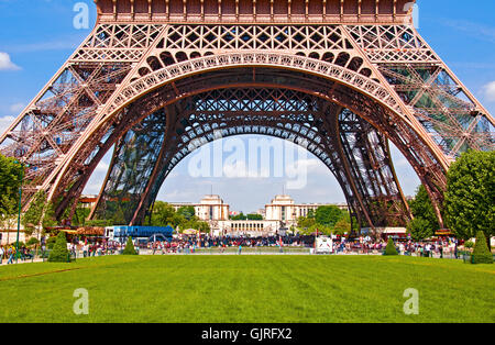 Eiffel-Turm 4 - Stockfoto