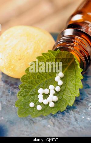 Homöopathie bedeutet agent - Stockfoto
