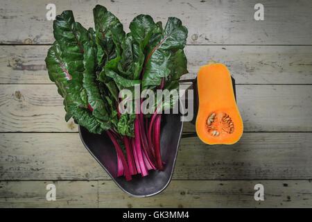 Gemüse im alten Stil - Stockfoto