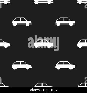 Nahtloses Auto Muster - Stockfoto
