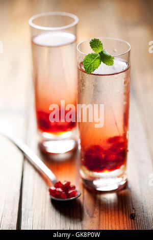 Cocktail Longdrink Erfrischung - Stockfoto
