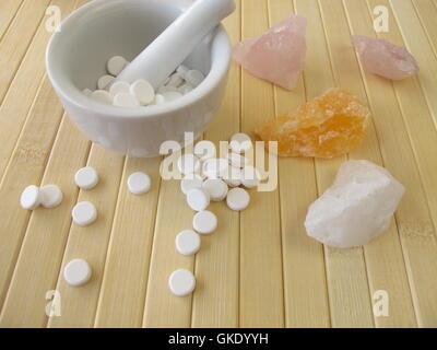 Heilung-Mörtel-Biochemie - Stockfoto