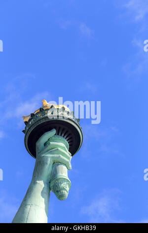 USA, New York, New York City, Statue of Liberty National Monument - Stockfoto