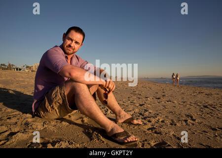 Glenn Keogh posiert für Porträt-Sitzung am 8. April 2016 in Santa Monica, Kalifornien. - Stockfoto