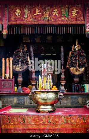 Inneneinrichtung in chinesischen tempel sanjao kwanim teng for Teng yong interior design decoration
