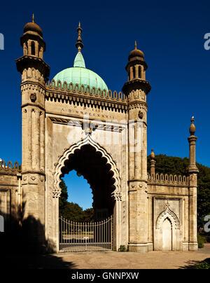 North Gate House, Brighton Royal Pavilion. - Stockfoto